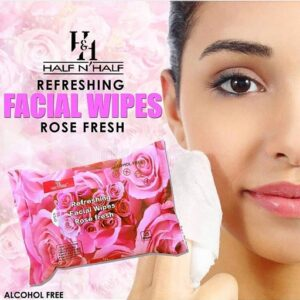 Half N' Half Clean Cool Refreshing Facial Wipes
