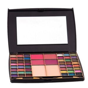 Half N' Half Makeup Kit 48 Color Eye shadow With Blusher Compact Powder