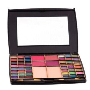 Half N' Half Makeup Kit 48 Color Eye shadow With Blusher Compact Powder