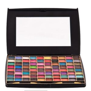 Half N' Half 80 Color Makhmali Eye Shadow Makeup Kit