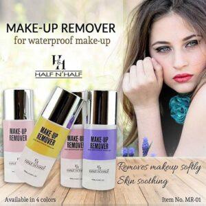 Half N' Half Makeup Remover For Waterproof Makeup